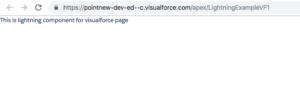 Use Lightning Components in Visualforce Pages output
