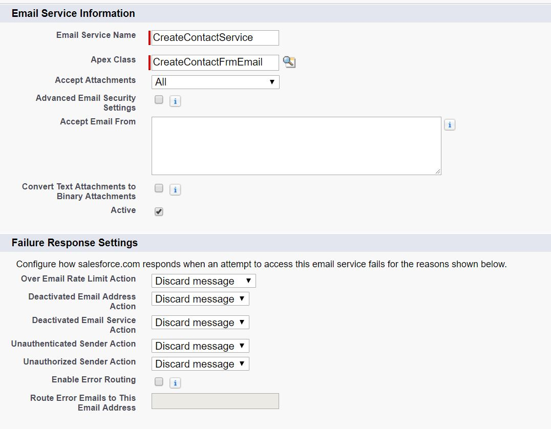 salesforce email service - Salesforce Blog