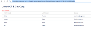 wrapper class in lightning component salesforce output