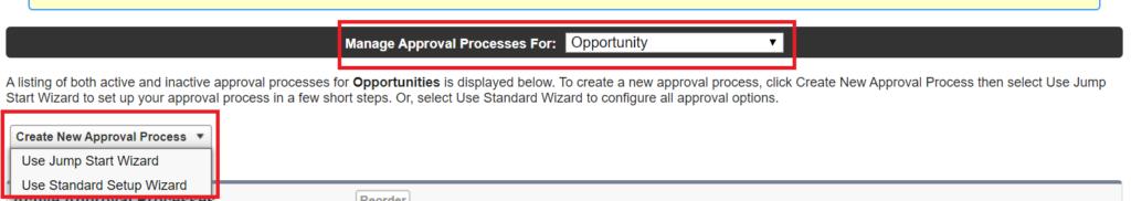 Create Approval process Salesforce