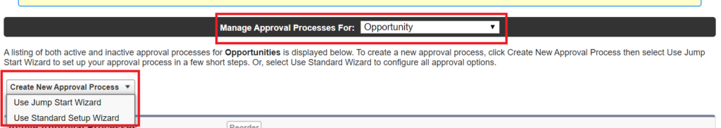 Approval Process Jump Start Wizard