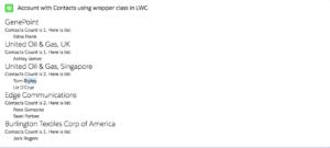 Wrapper Class in LWC
