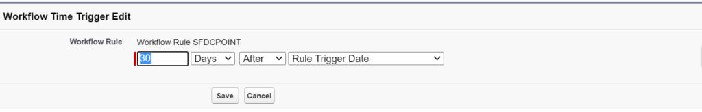 Define Time Trigger